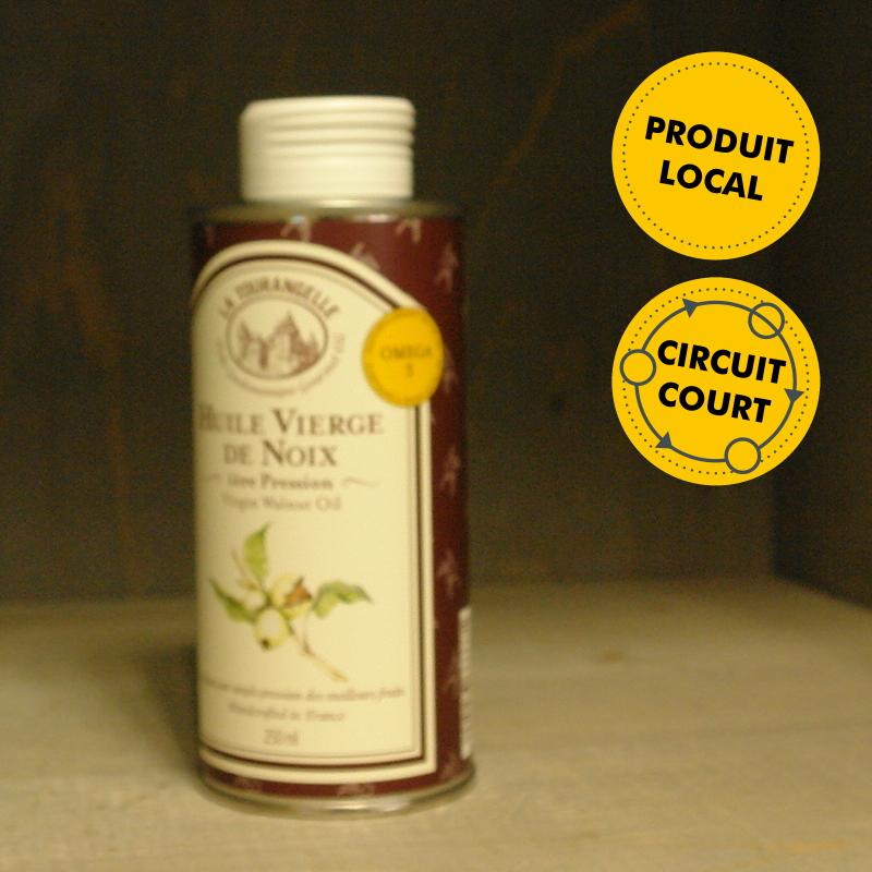 huile vierge de noix la tourangelle envie de saveurs