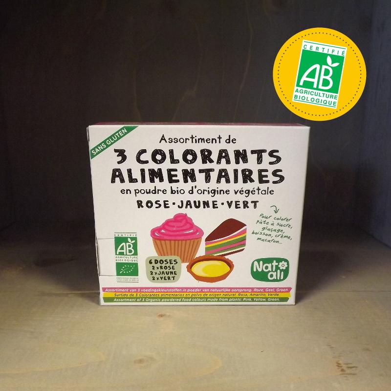 provinces bio colorant alimentaire ab - Colorants Alimentaires Bio