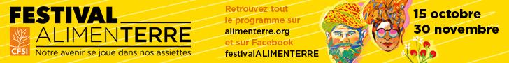 Banière festival Alimenterre 2018